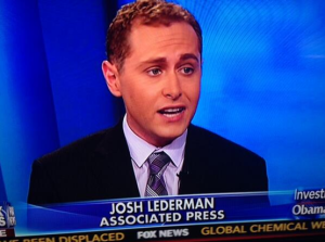 AP White House reporter Josh Lederman appears on Fox News.