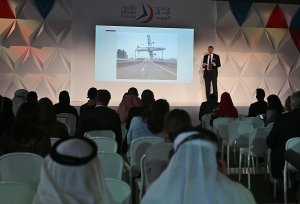 AP Standards Editor Tom Kent talks at the Arab Media Forum in Dubai, United Arab Emirates, Tuesday, May 12, 2015. (AP Photo/Kamran Jebreili)